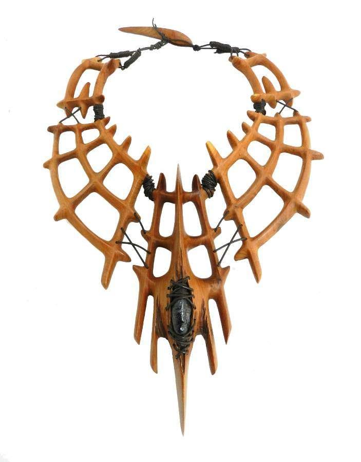 Sculptural Necklace by Julien Righi One of Kind