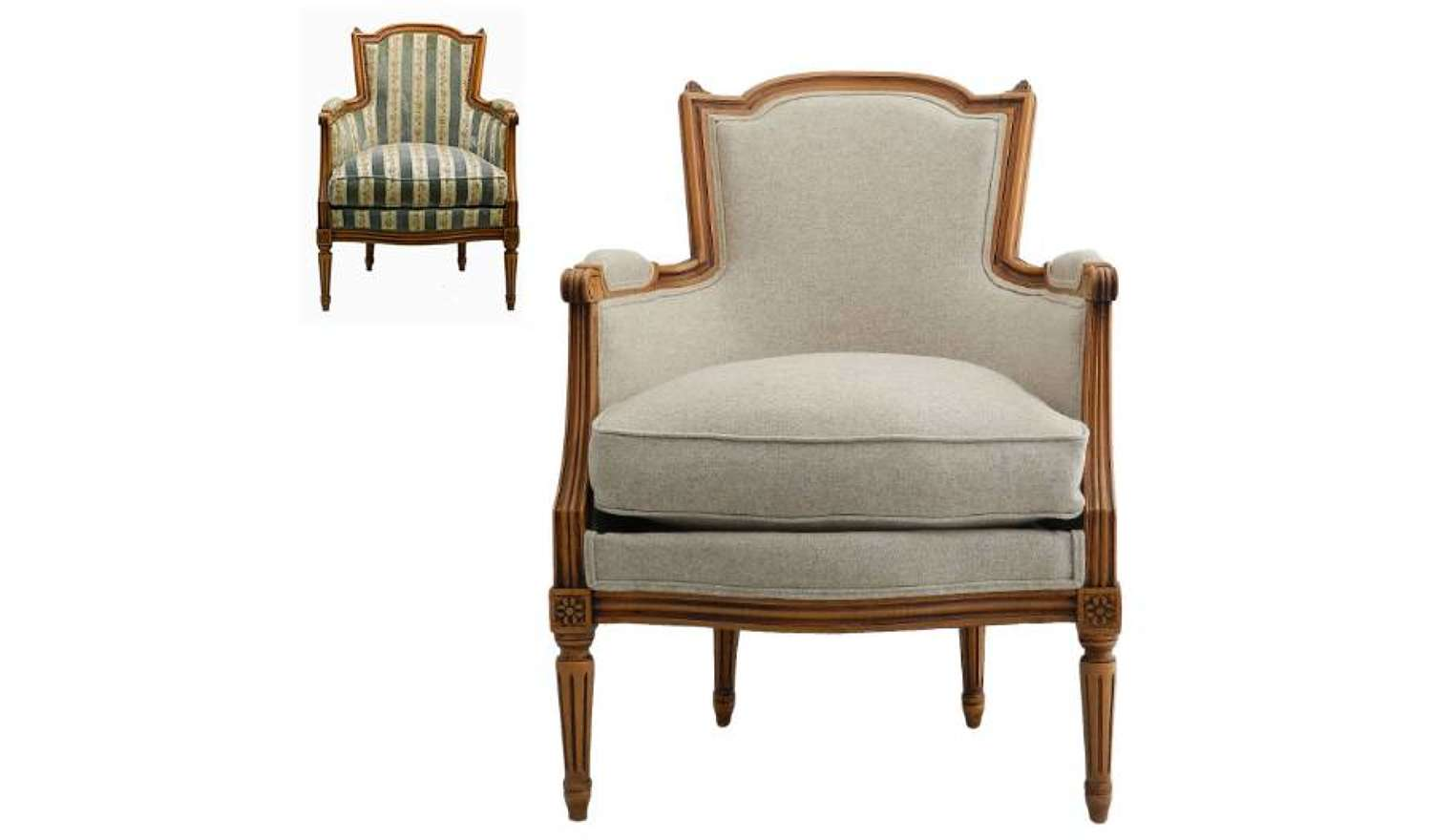 French Fauteuil Armchair Recovered to order