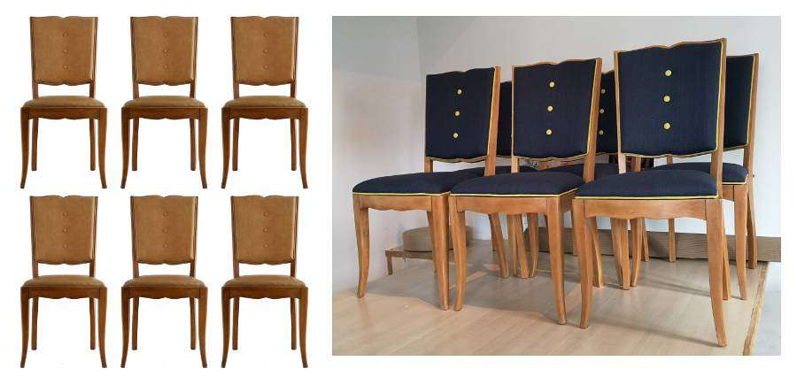Art Deco Dining Chairs source & customize Mid Century