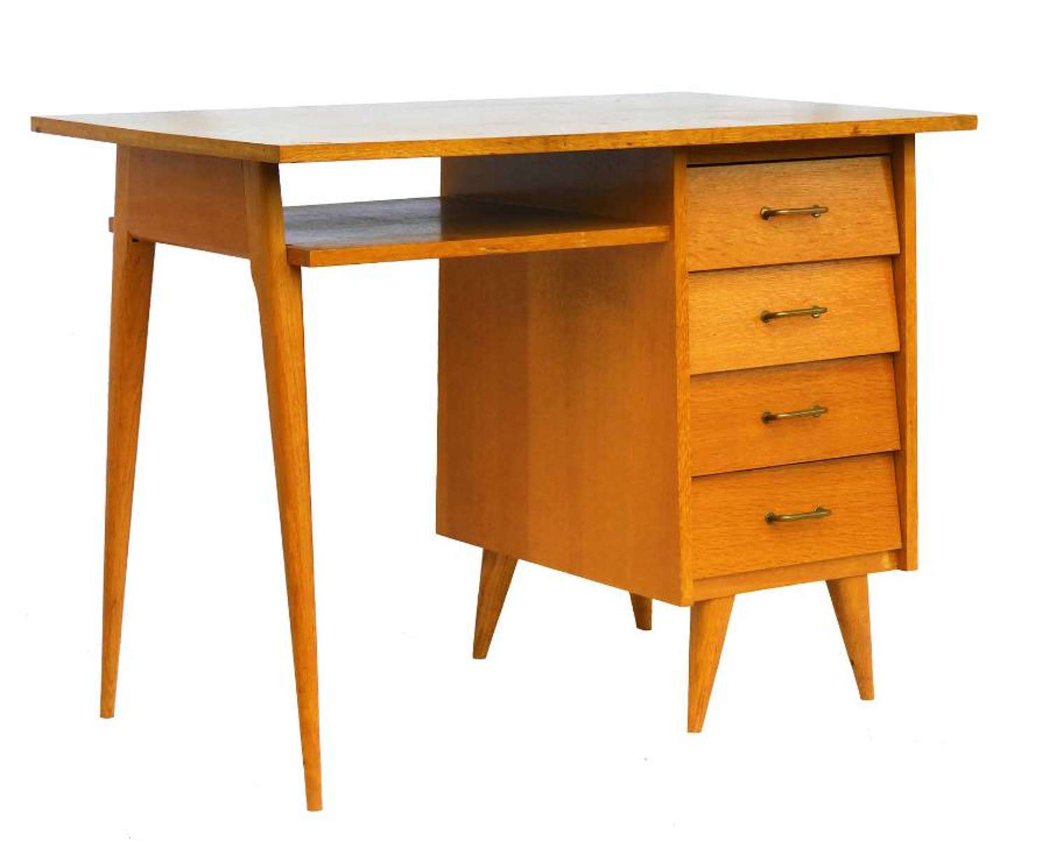 Mid Century Desk Writing Table French c1950