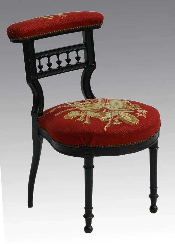 French Napoleon III Music Chair