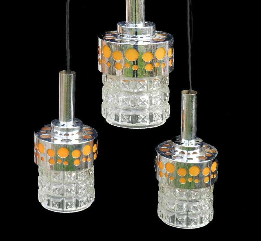 Mid Century Raak Pendant Lights
