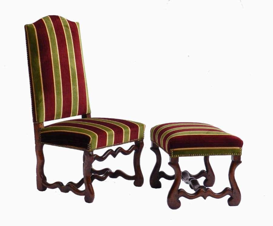 Diminutive Os de Mouton Chair & Stool Childs