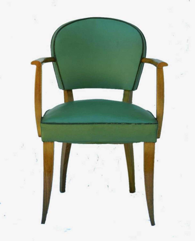 Art Deco French Bridge Chair Desk Chair All Original