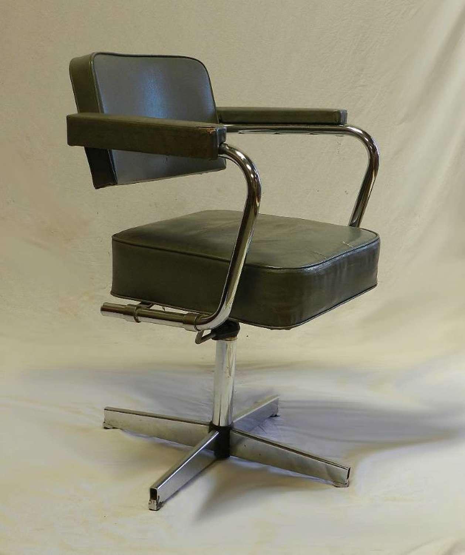 Mid Century Revolving Desk Chair Office adjustable height