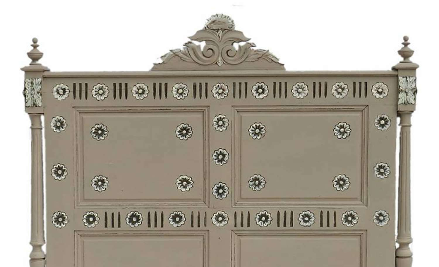 C19 French Bed Headboard painted