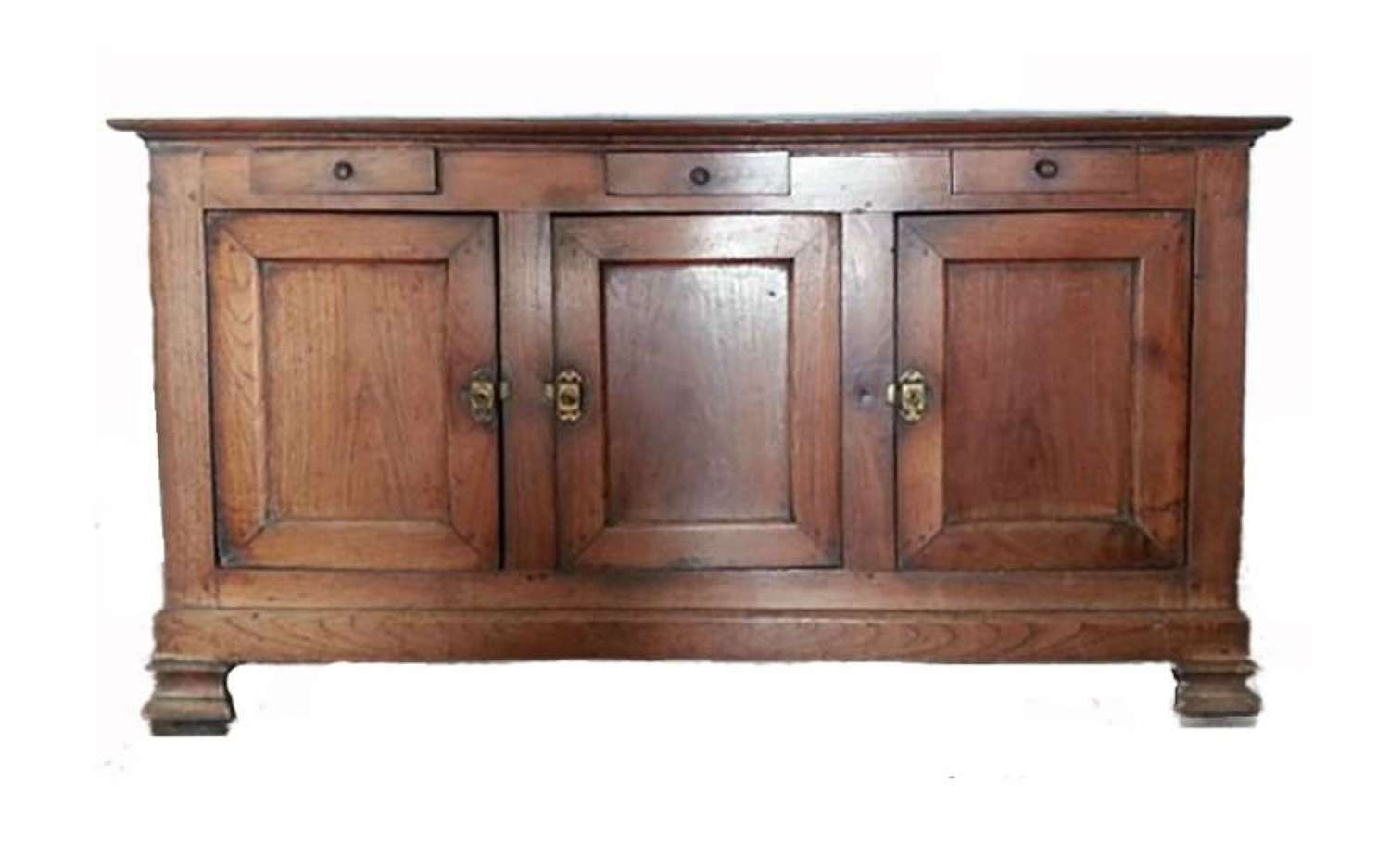 C19 French Oak Country House Enfilade Buffet