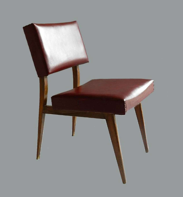 Mid Century Scandinavian Desk Chair includes recovering