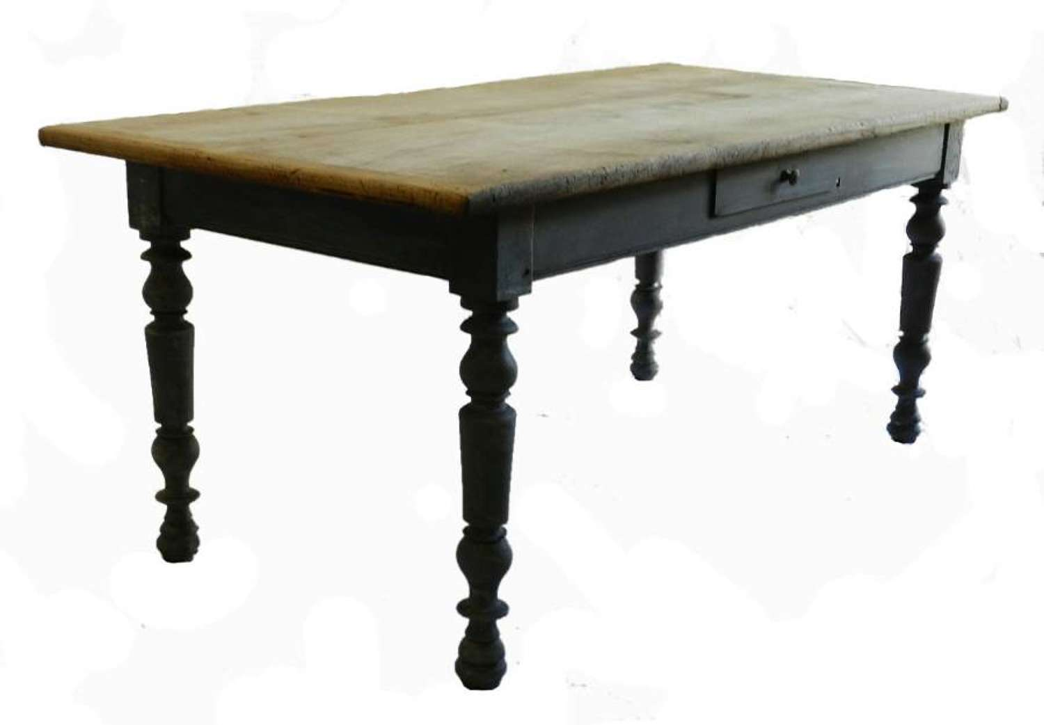 C19 French Farm House Table Kitchen Dining