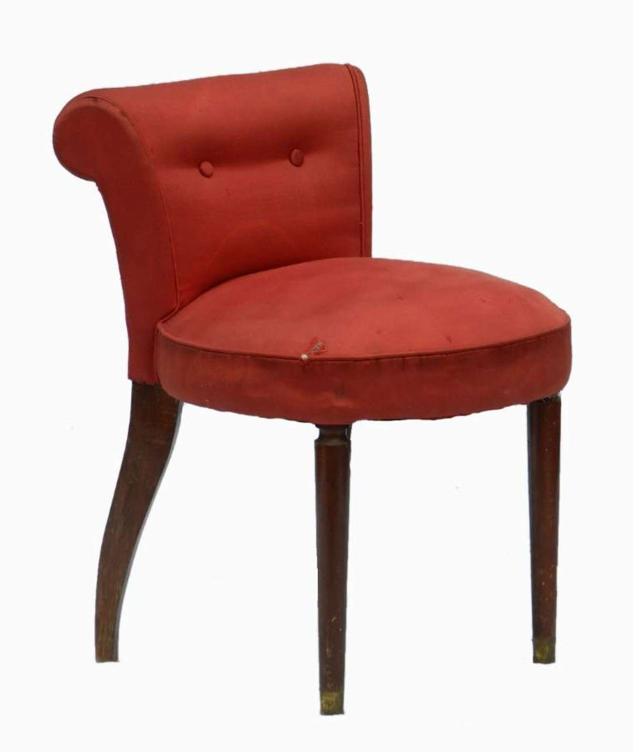 French Dressing Stool to recover for dressing table