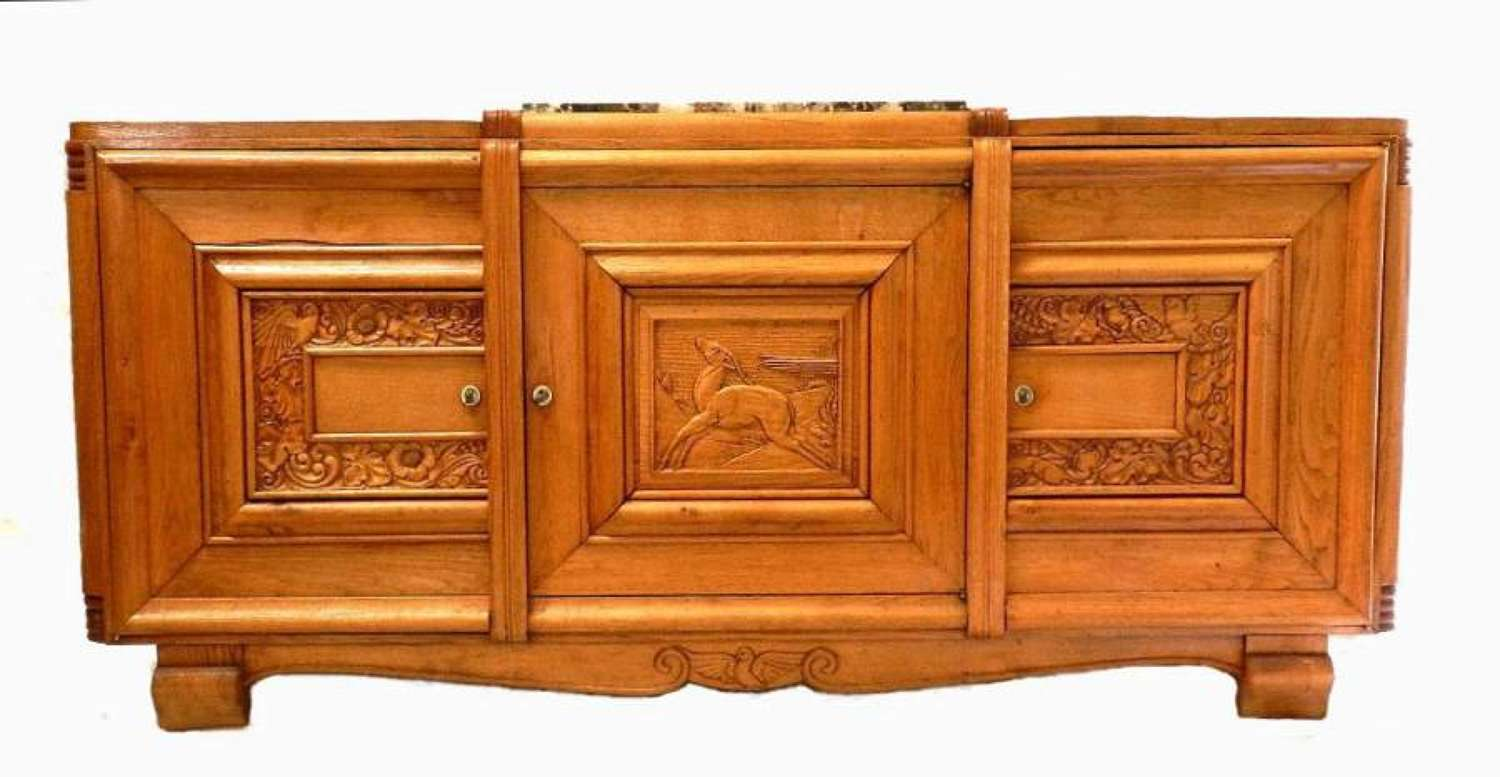 French Art Deco Sideboard Buffet style of  Dudouyt + Klein
