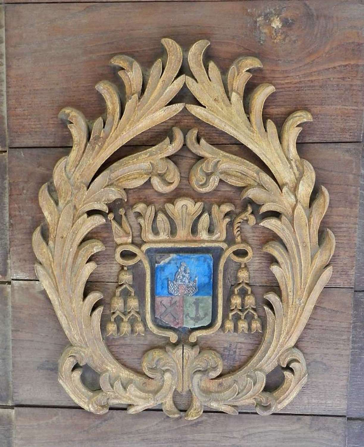 Old French Decorative Panel