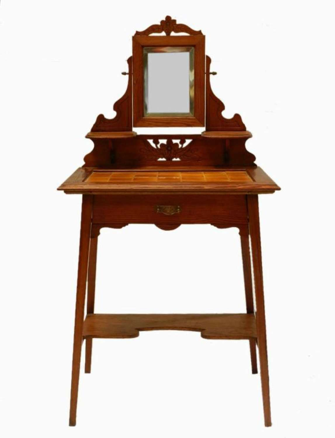 Arts & Crafts Dressing Table Swing Mirror