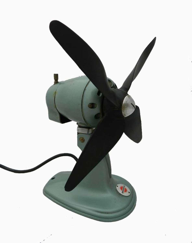 Mid Century Vintage Electric Fan Progress