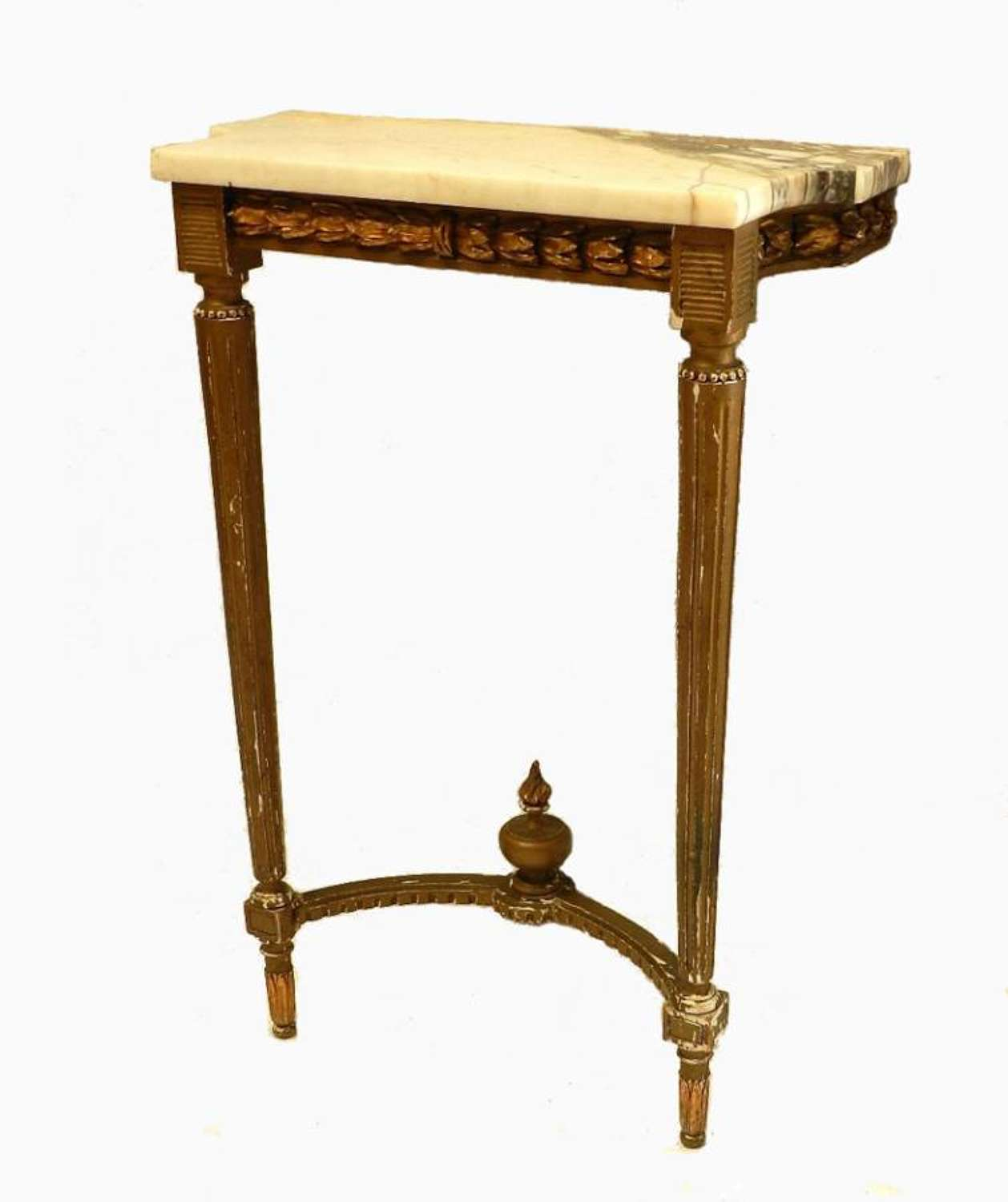 Original C19 French Louis Console Table