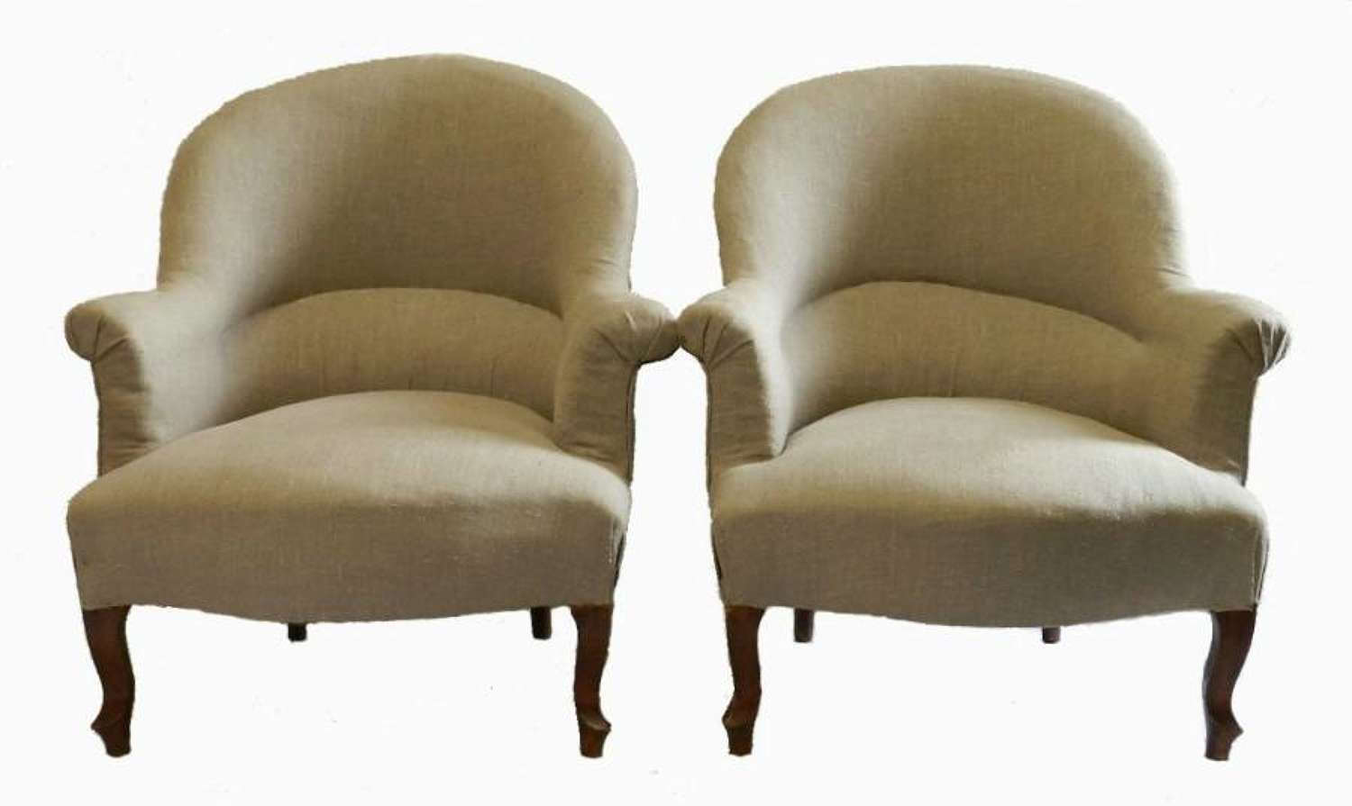 Pair of C19 French Armchairs