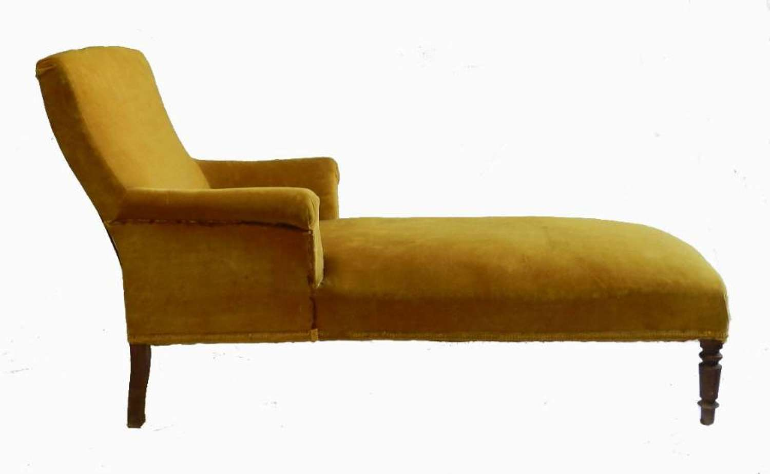 C19 French Meridienne Sofa Chaise Longue to recover