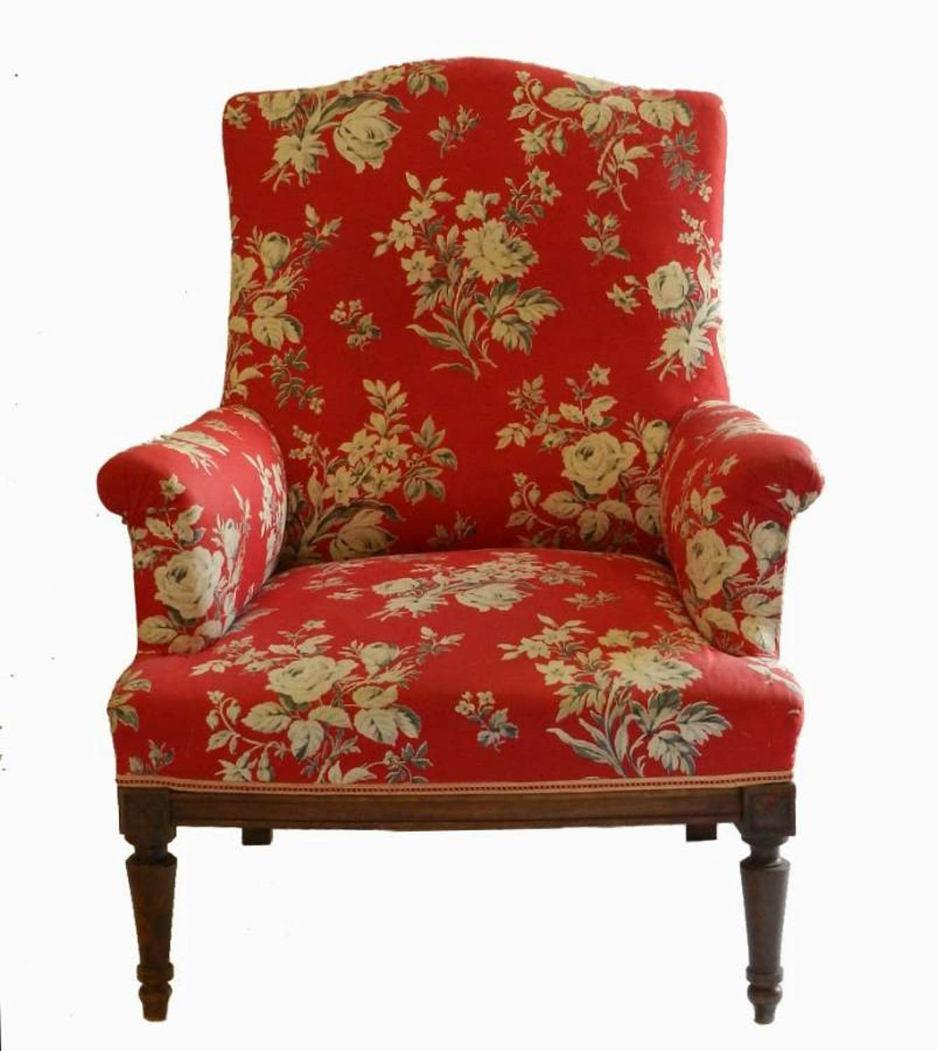 Original C19 French Armchair Fauteuil to recover (or use)