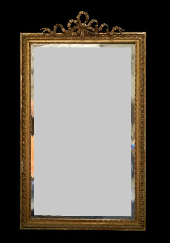 Large French Dressing Mirror C19 Louis