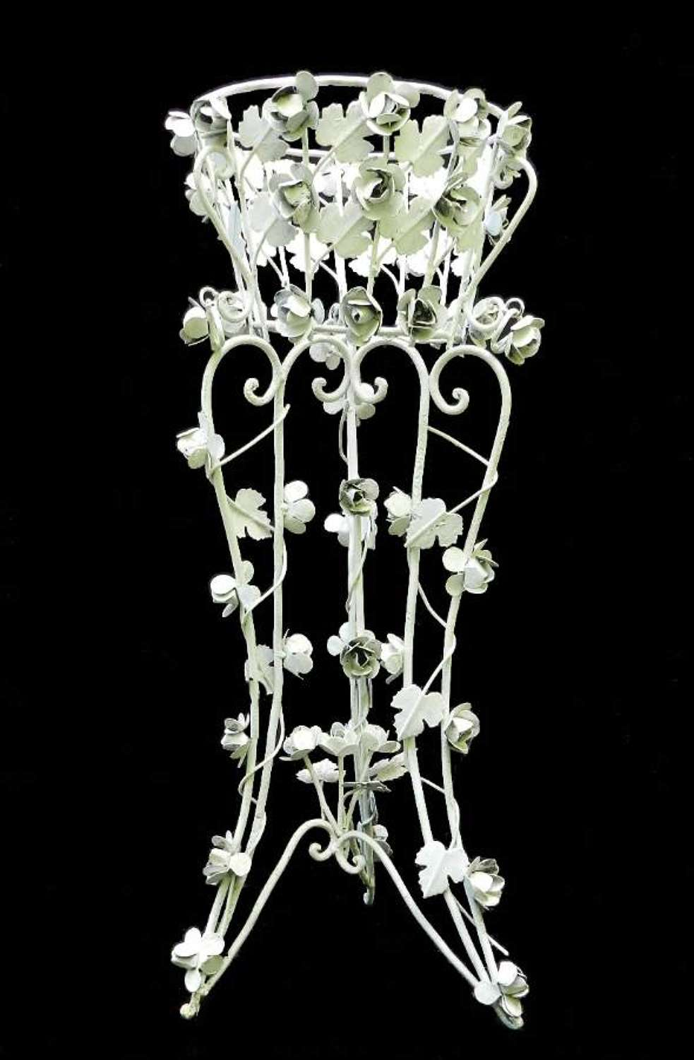 Wrought Iron Jardiniere Plant Stand Garden or Conservatory