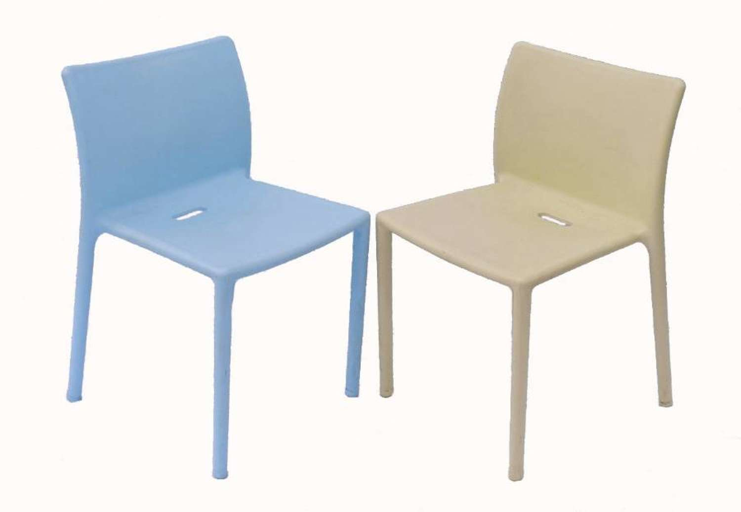7 Stacking Air Chairs by Jasper Morrison for Magis