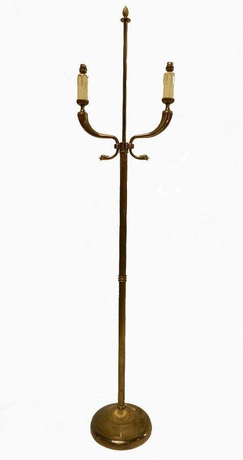 Maison Jansen Floor Lamp c1940 Mid Century Empire