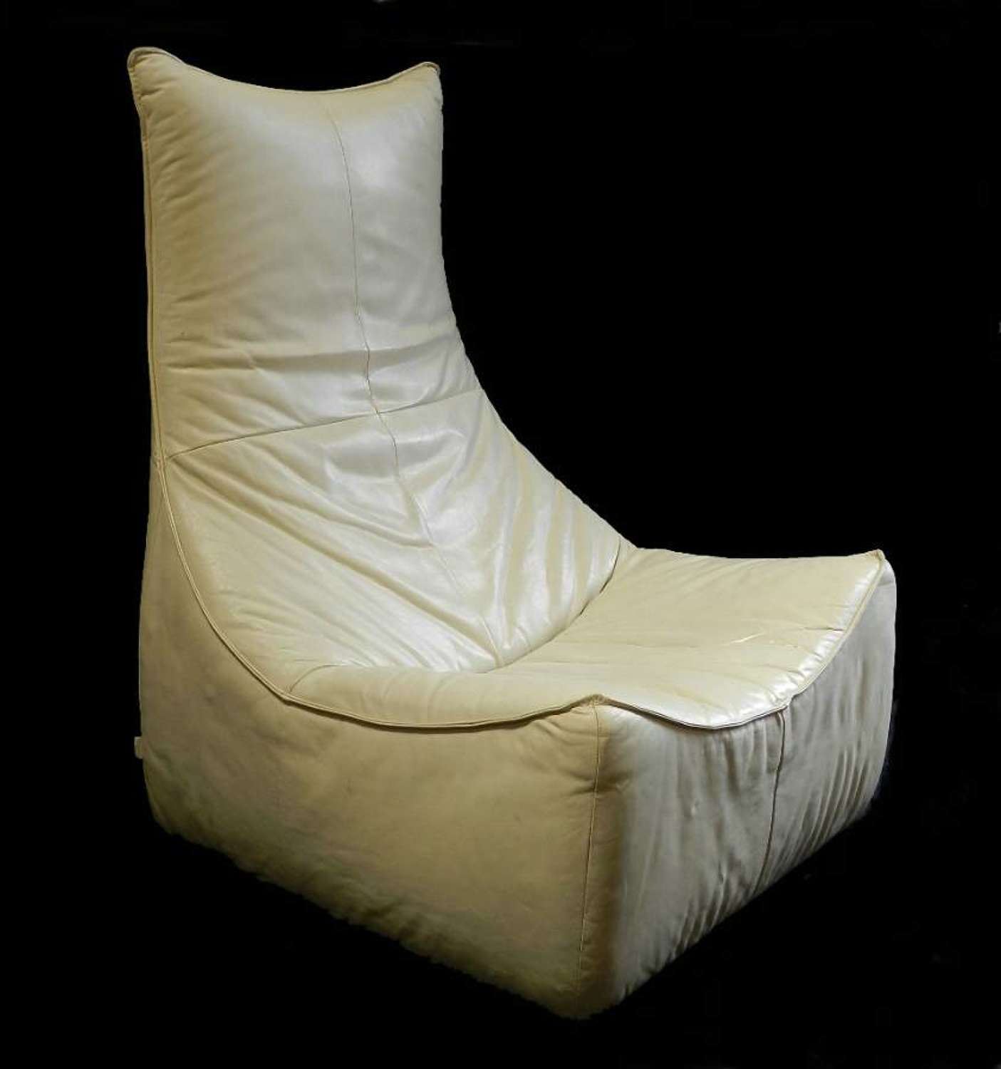 The Rock Gerard Van Den Berg for Montis Leather Lounge Chair 1970s Matching Sofa also available