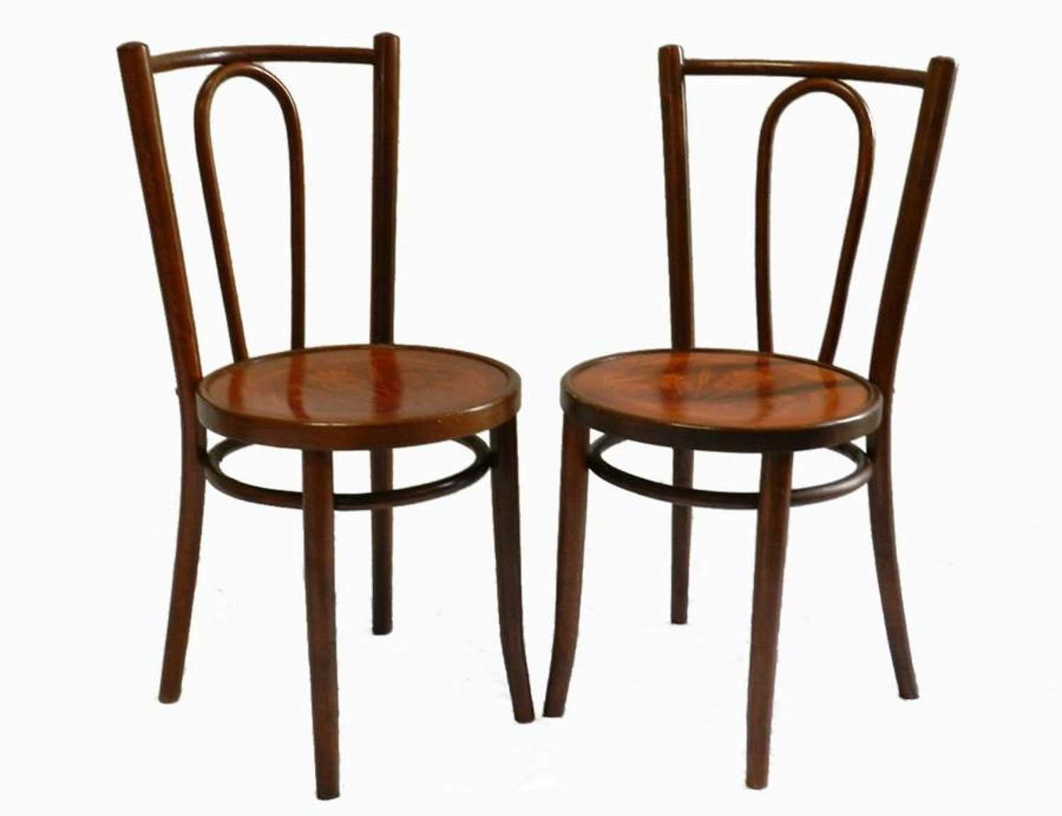 Good Pair of Art Nouveau Bentwood Cafe Bistro Chairs