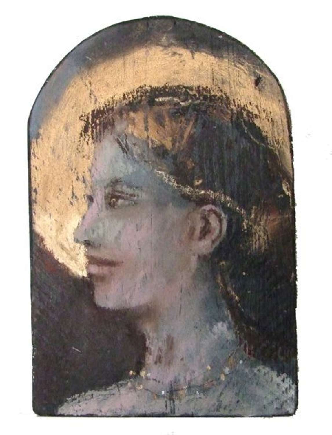 A Silent Exultation  Oil on Wood by Andy Waite