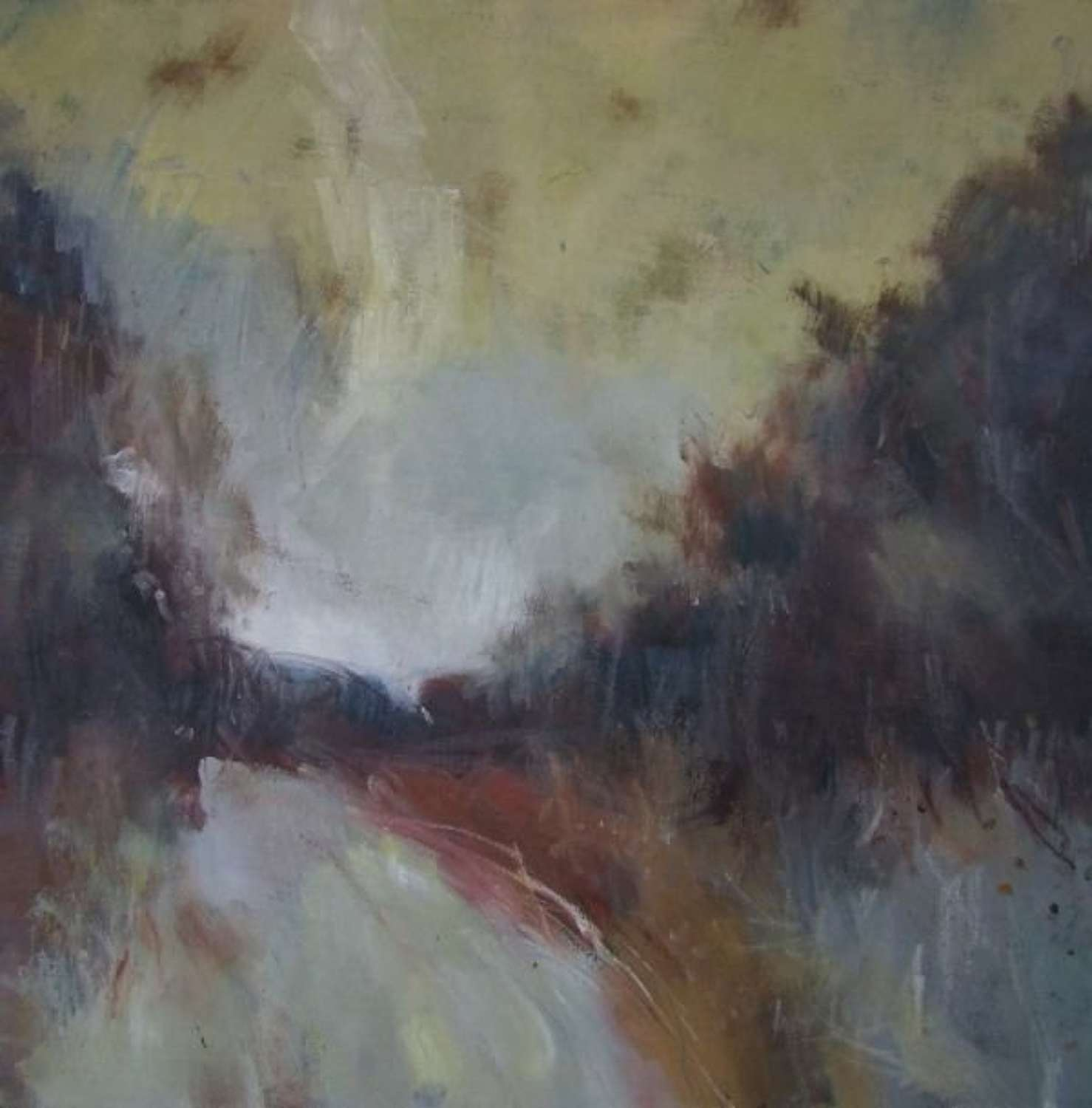 The Road Home  Oil on Canvas by Andy Waite