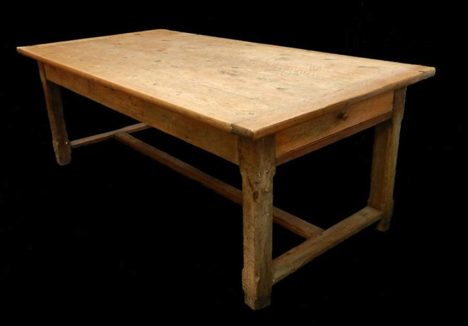 Good C19 Provincial French Farmhouse Table Refectory Country Kitchen