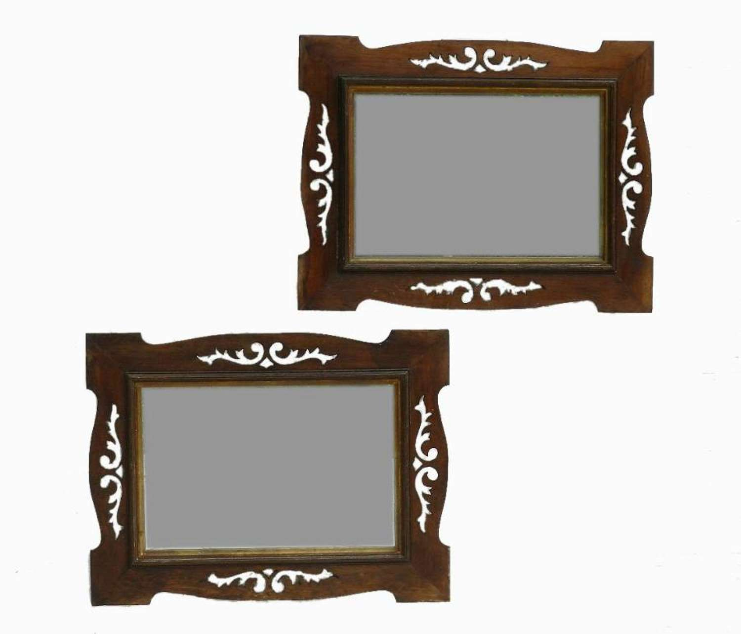 Pair of French Mirrors Art Nouveau / Arts & Crafts