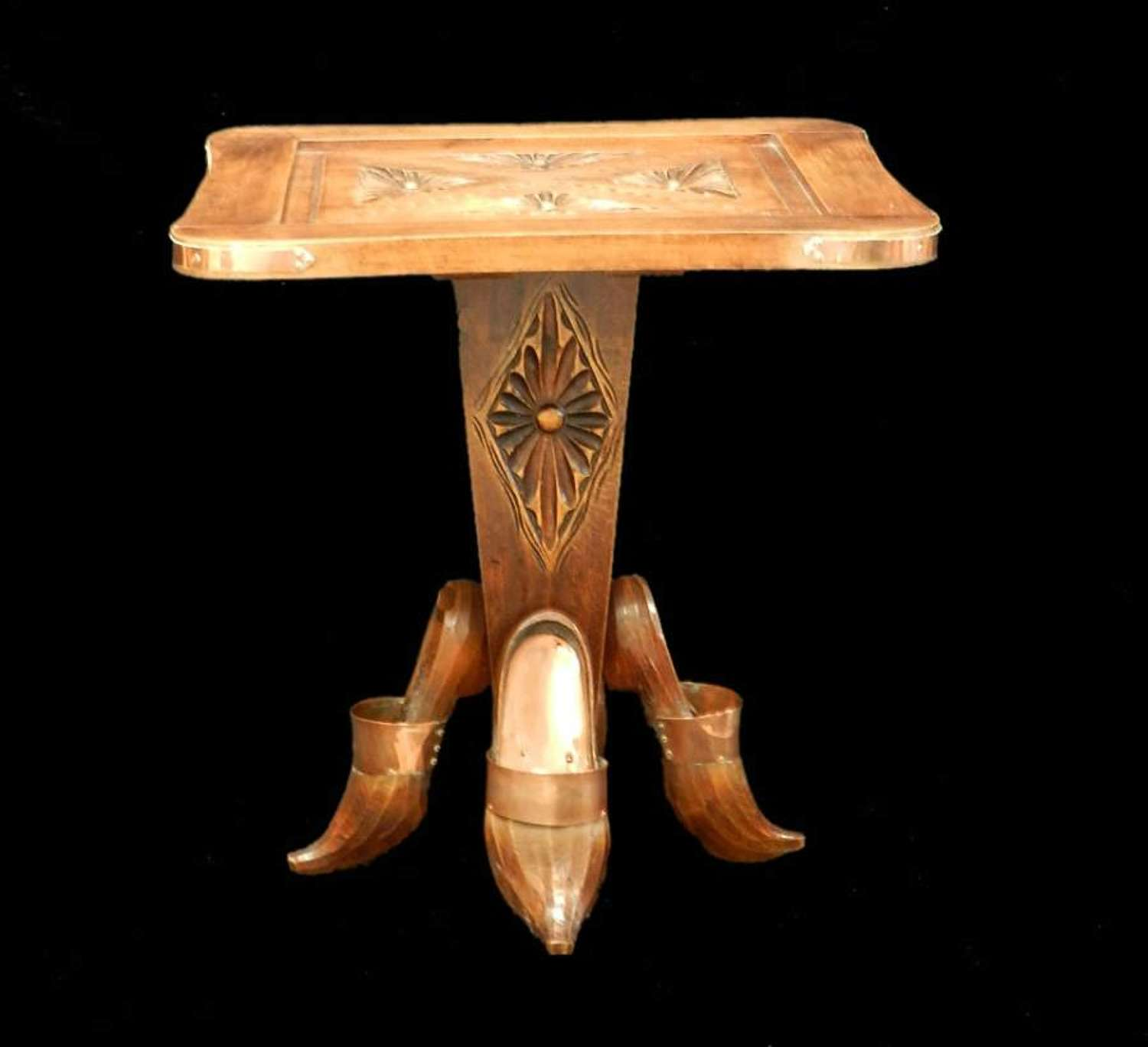 Quirky Vintage French Occasional or Side Table from Pays Basque