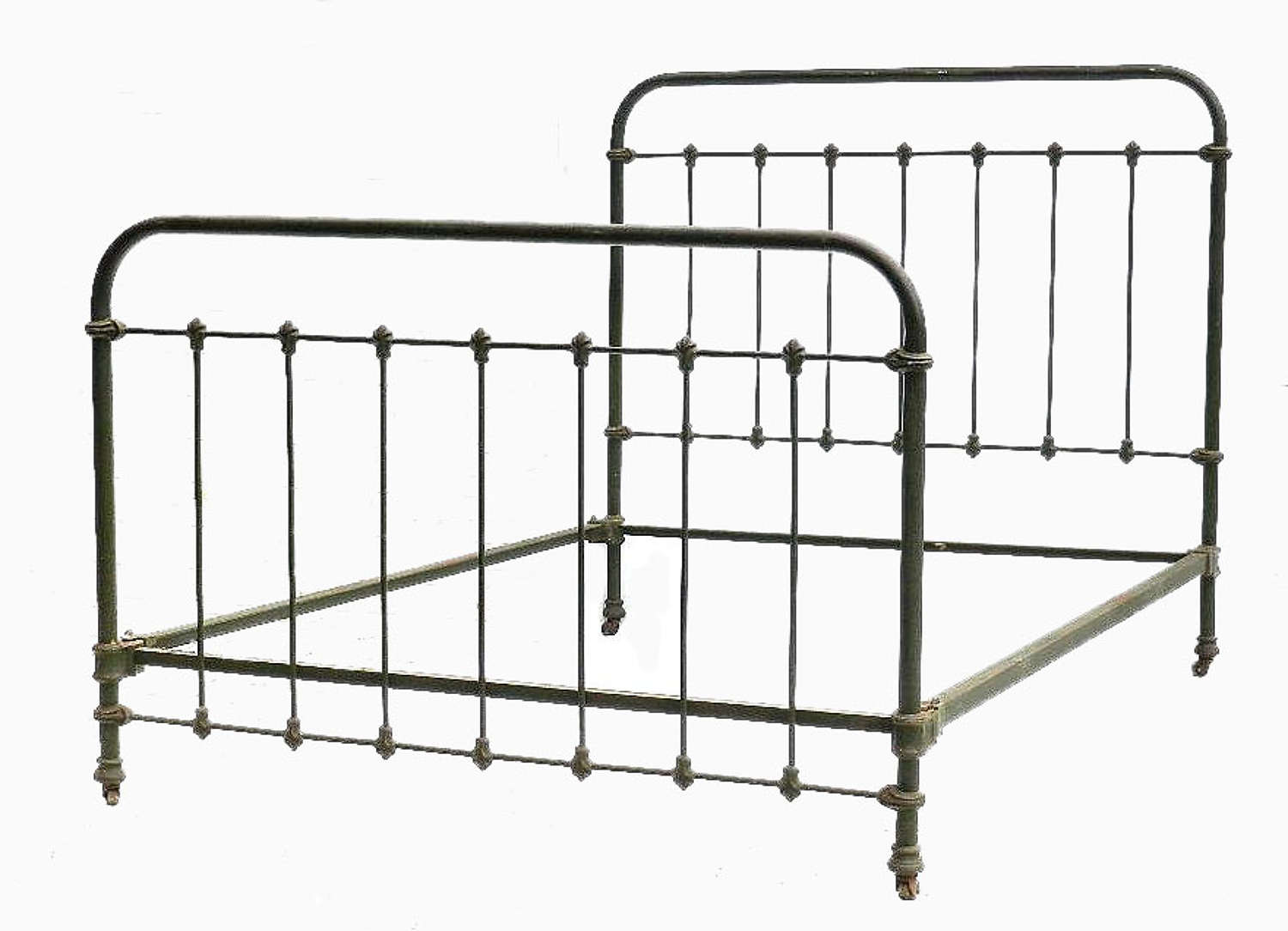 C19 French Iron Double Bed