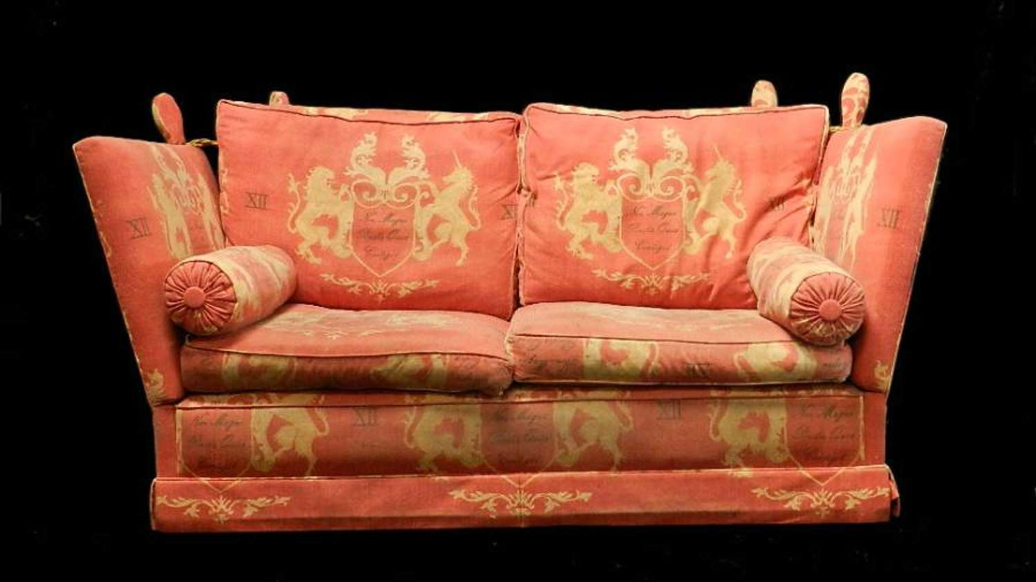 Vintage Knowle Sofa 2 seater to clean/restore or recover