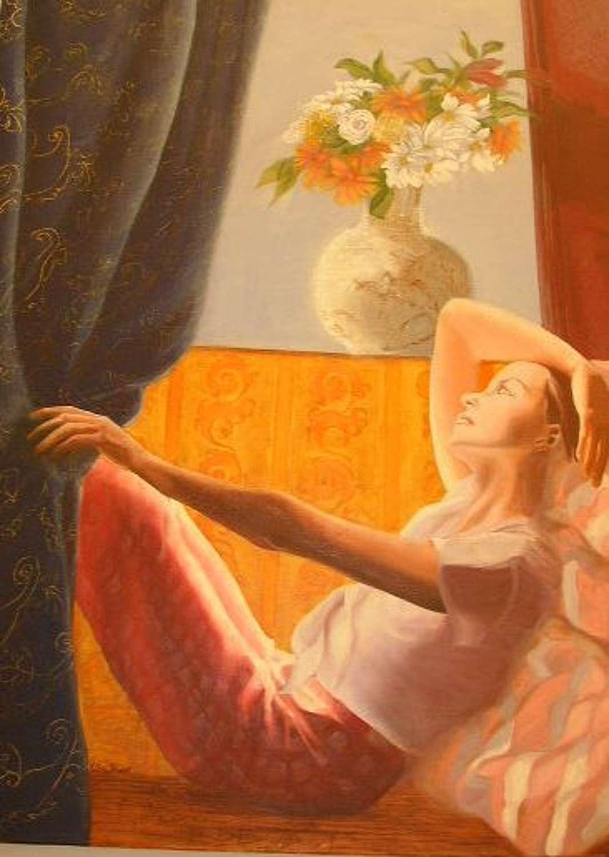 `La Fenetre`  by Perez Petriarte