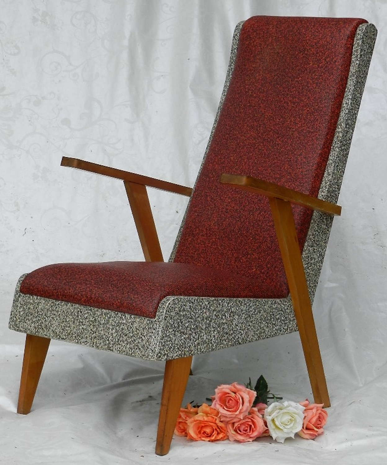 1950s French Armchair Fauteuil
